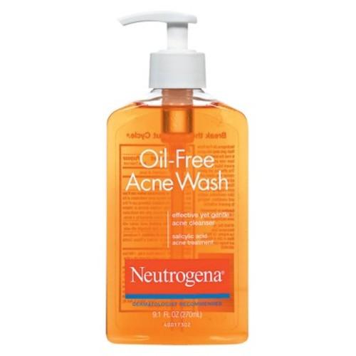 Neutrogena Oil-Free Acne Face Wash With Salicylic Acid, 9.1 Oz. (Pack of 3) - $12.11 @ Amazon.com w/S&S