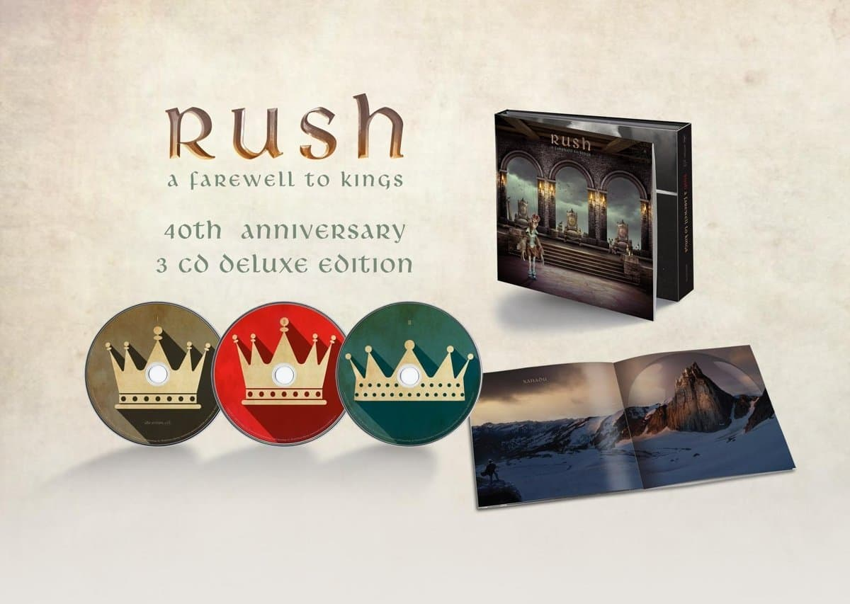 Rush - A Farewell To Kings [3 CD][40th Anniversary Edition] - $22.39 @ Amazon.com
