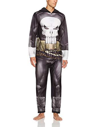 Marvel Men's Punisher Hooded Union Suit - Size L - $6.98 @ Amazon.com