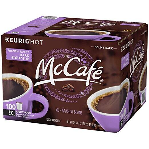 McCafe French Roast Coffee, K-CUP Pods, 100 Count - $30.15 @ Amazon.com w/S&S and coupon