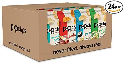 Popchips Potato Chips, Variety Pack, 24 Count - $11.19 @ Amazon.com