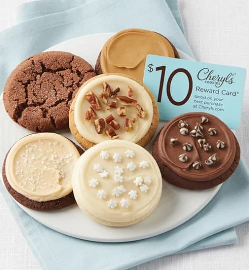 """6 cookie """"Winter Cookie Sampler"""" from Cheryl's w/Free Shipping $9.99"""