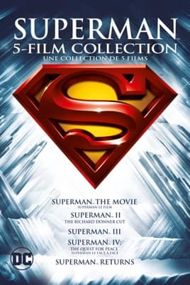 Superman 6 Film Collection (HD) $20 @ iTunes. [MA]