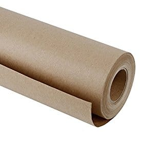 Natural/Brown Kraft Paper Roll, 30 inch by 165 feet $19.99 AC + FS (PRIME)