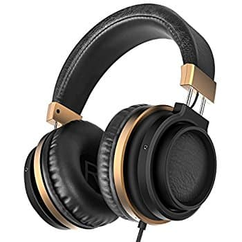 Over Ear Bass Headphones with Microphone and Volume Control $11.96 AC + FS (PRIME) $11.69