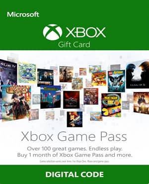 Xbox Game Pass 1 Month/30 Days @ NoKeys for 49% OFF $5
