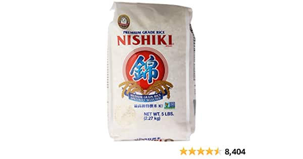 Nishiki Medium Grain Rice, 80 Ounce