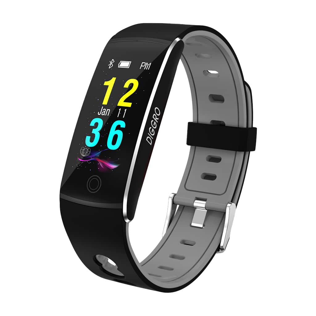 Fitness Tracker with Heart Rate IP67 Waterproof Bluetooth 4.0 Sports Pedometer Sleep Monitor Call/SMS Reminder Sedentary Reminder $19.99