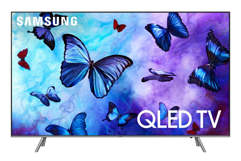 """YMMV SAMSUNG 65"""" Class 4K (2160P) QN65Q6FN Ultra HD Smart QLED HDR TV $899"""