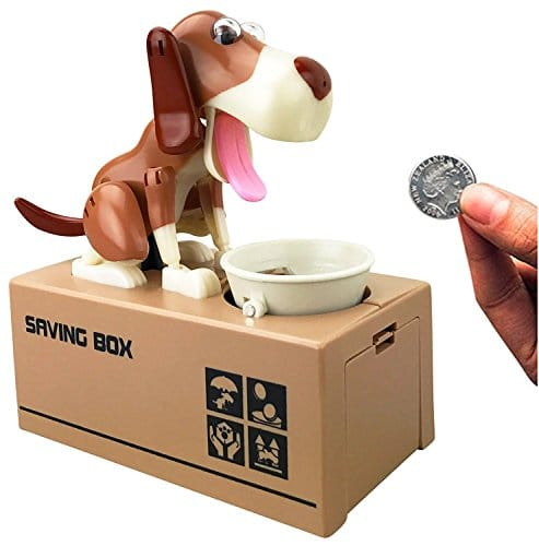 Mansalee Cute Dog Piggy Bank Doggy Coin Bank Canine Money Box $8.44