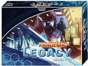 AMAZON: PANDEMIC LEGACY Boardgame - Blue and Red Box - $49.41 + FREE SHIPPING