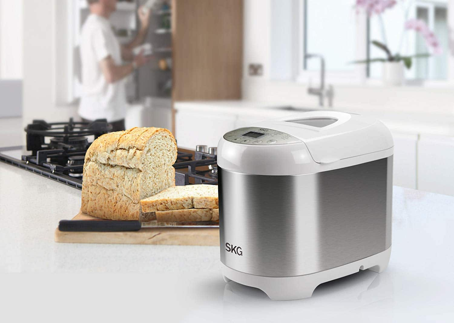 SKG3950 2LB Automatic Programmable Bread Maker for $60 @ Amazon (normally $90) $59.98