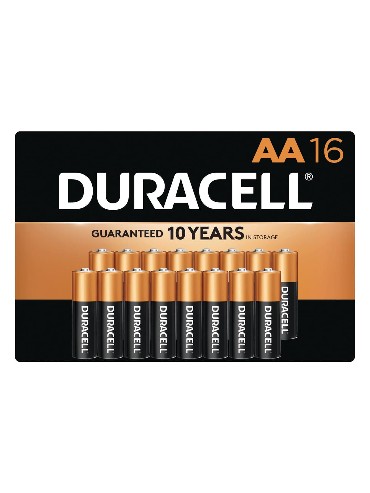 16-Pk Duracell Coppertop Batteries (AA/AAA) + 100% Back in Rewards $19.40 & More + Free Store Pickup Office Depot Officemax