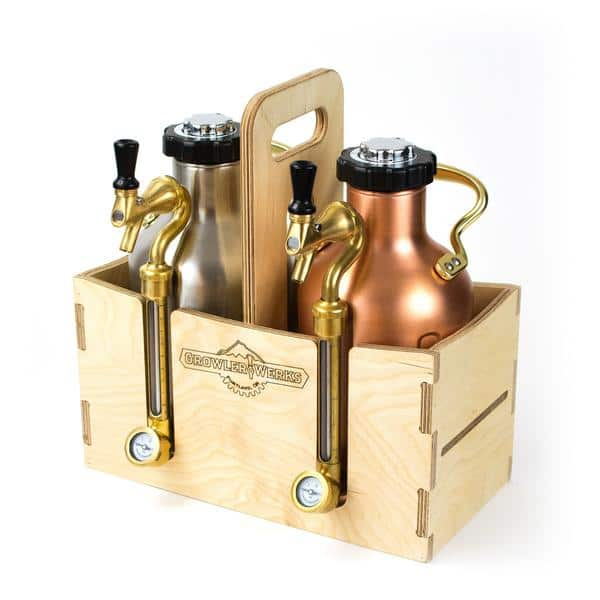 15% off plus free shipping at Growlerwerks cyber monday sale