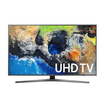 """Samsung UN65MU700D 65"""" 4K UHD Smart LED TV with $100 Google Play Gift Card and White Glove Delivery $899 at BJs.com"""