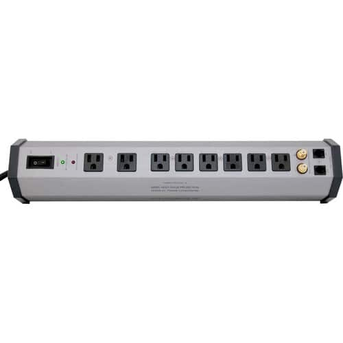 Furman PST-8 Power Station Home Theater Power Conditioner & Surge Protector - 8 Outlets, 2 Coax Pairs & Phone Line Protection $94