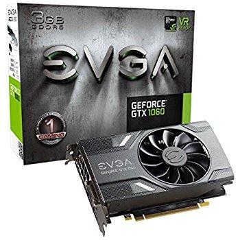 EVGA GeForce GTX 1060 3GB GAMING, 3GB GDDR5, Graphics Cards FREE SHIPPING $239.68