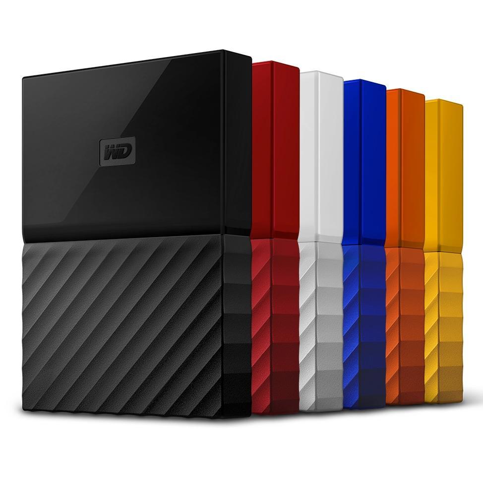 WD 2TB Red My Passport  Portable External Hard Drive - USB 3.0 (RECERTIFIED) $42.5 FS