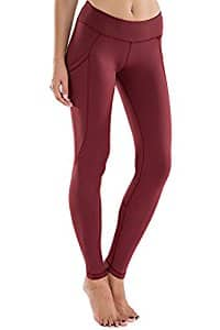Houmous Women's Workout Ankle Leggings With Side Pocket Running Yoga Pants - $11.99 Free Shippping with Prime