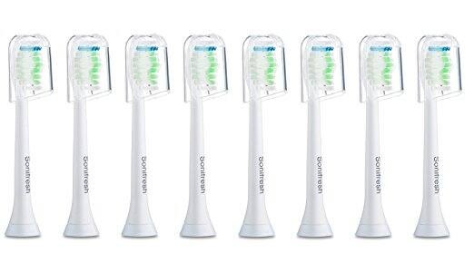 Sonifresh DiamondClean Replacement Heads For Philips Sonicare Electric Toothbrush, 8 Pack - $7.35 AC with Prime