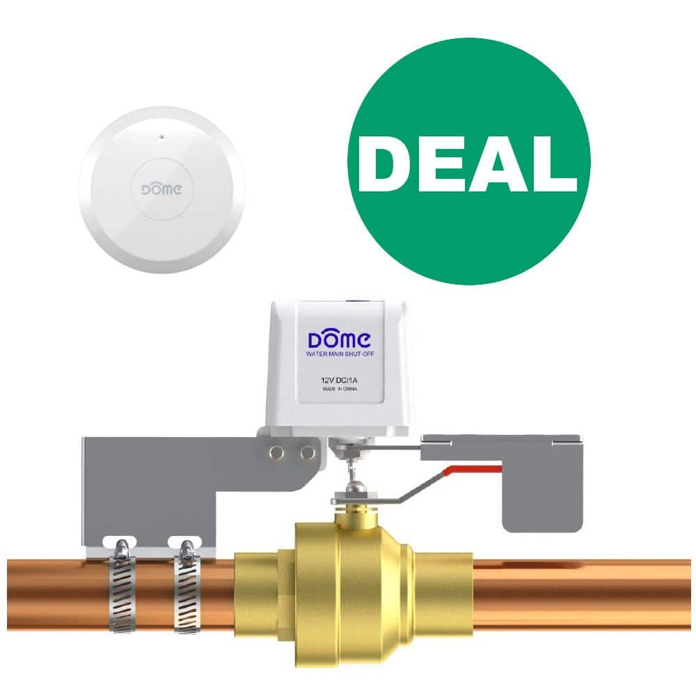 Dome Z-Wave Plus Flood Prevention Kit and More - $101.95 or Less Free Shipping (No Tax for Most States)