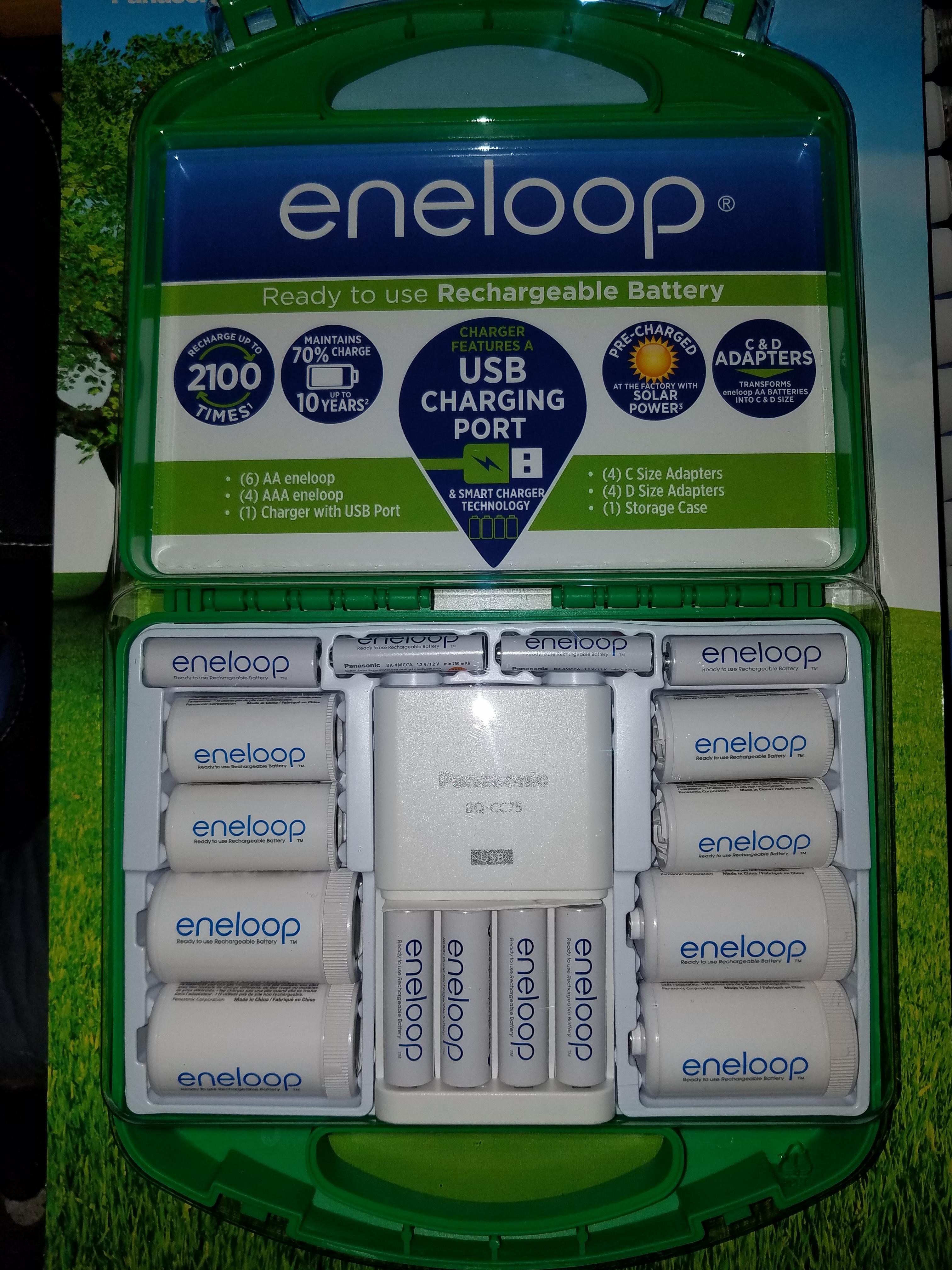 Costco Members B&M Deal: Panasonic Eneloop Starter Pack