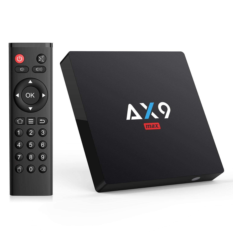 AX9 MAX Android 7.1 TV box 2GB/16GB EMMC $33.59 Free SH at Amazon