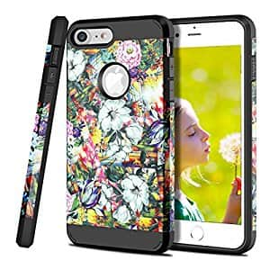 Colorful Flowers Case for iPhone X, 7, 7+, 5s/SE, LG G4, Note 8 - $2 and up @ Amazon