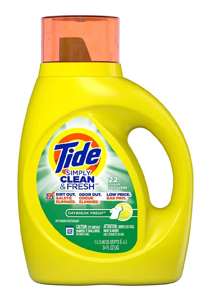 34 oz Tide Simply Clean & Fresh Liquid Laundry Detergent $2 , minimum (4)