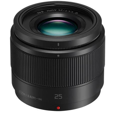Panasonic 25mm F1.7 Micro 4/3 ASPH Lens for $99 at Adorama or BHPhotoVideo