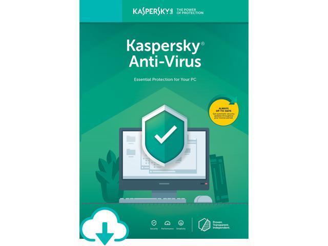 Kaspersky AV 3 Device 2020 - $9.99 at Newegg (download)