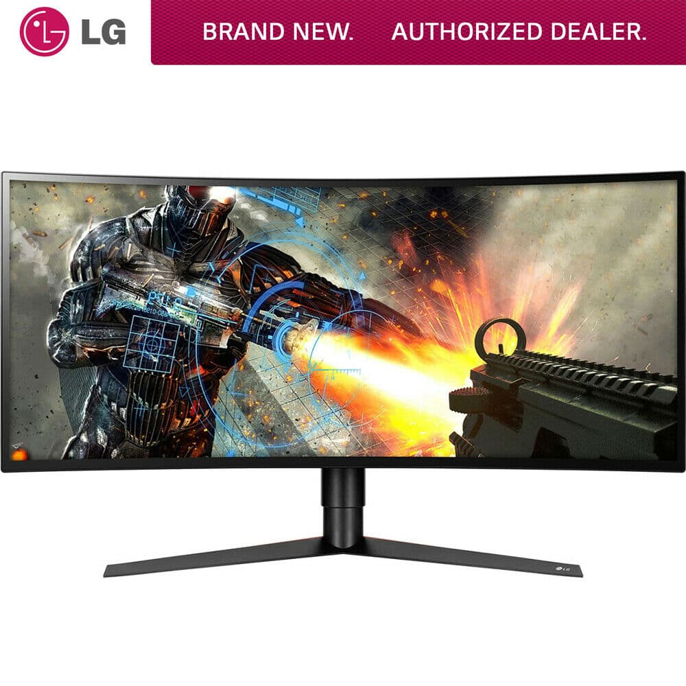 "34"" LG 34GK950F-B Curved 144Hz 3440x1440 FreeSync 2 Monitor"