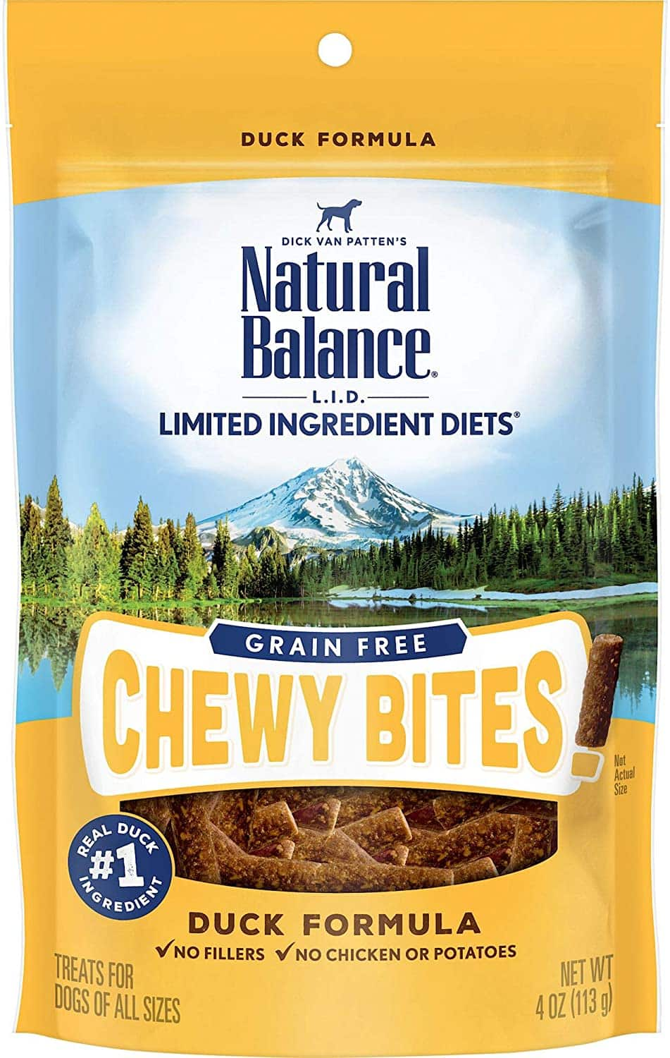 $2.20 Natural Balance L.I.D. Limited Ingredient Diets Dog Treats, Grain Free
