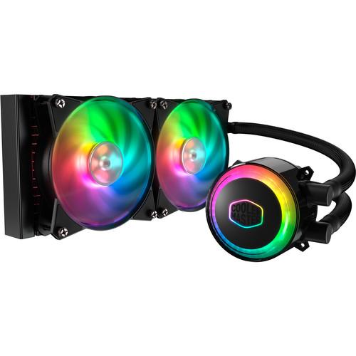 Cooler Master MasterLiquid ML240R RGB Liquid CPU Cooler $90