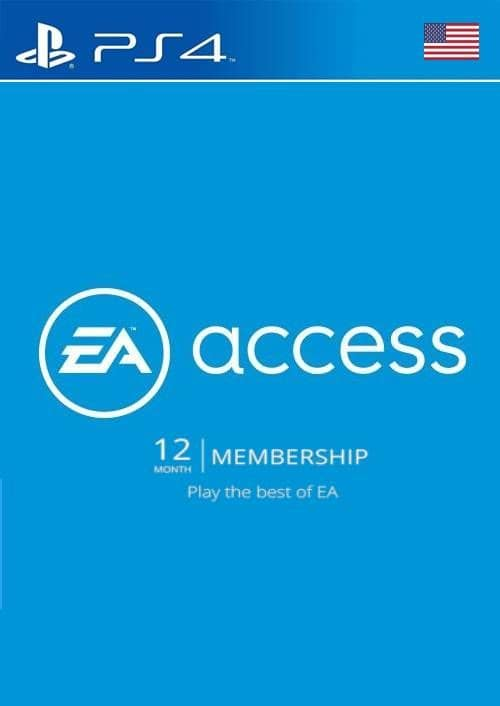 EA Access 12 Month PS4 (US) $24.20