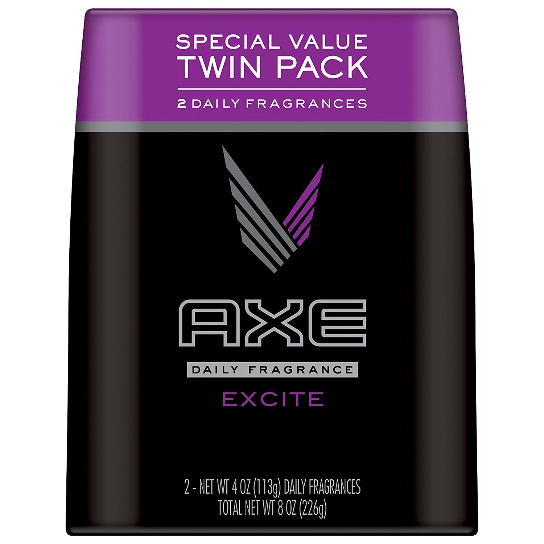 AXE Body Spray for Men, Excite 4 oz 2 Pack $3.80