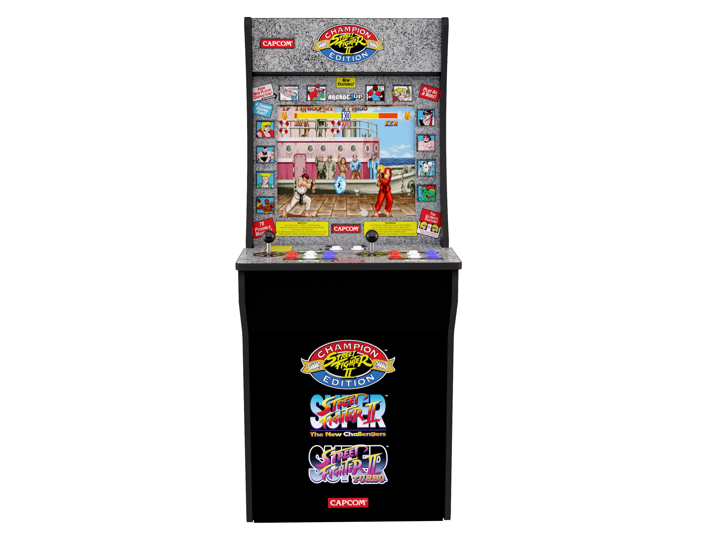Arcade1Up Rampage / Gauntlet Combo and StreetFighter 2 Combo- $149