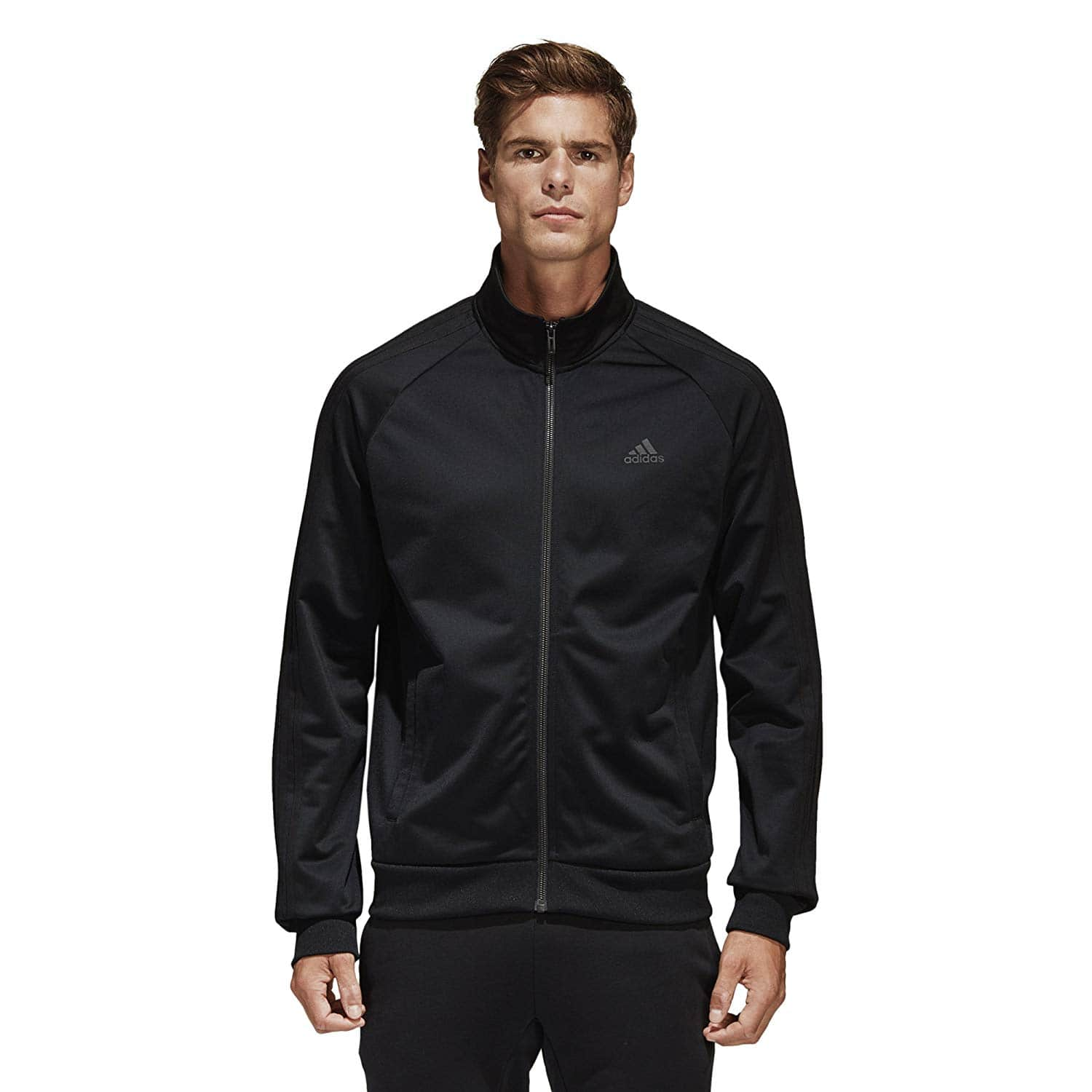 aabe099cf3d4 adidas Men's Essentials 3-Stripe Tricot Track Jacket - Select Colors ...