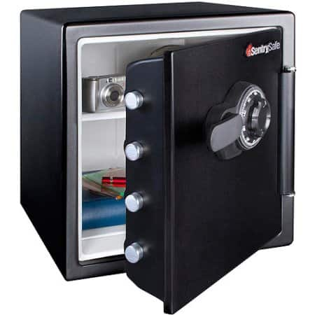 SentrySafe 1.2 cu. ft. Waterproof and Fire Resistant Combination Safe $88