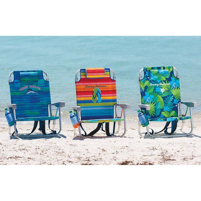 Tommy Bahama Backpack Beach Chair $24.99