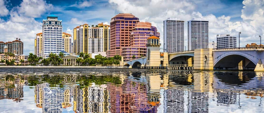Los Angeles to West Palm Beach FL or Vice Versa $197 RT Nonstop Airfares on JetBlue Airways Blue Basic (Travel May - June 2021)