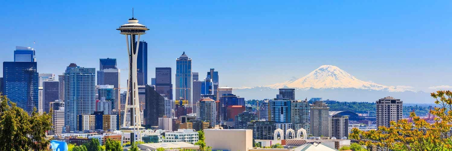 Omaha NE to Seattle or Vice Versa $155 RT Airfares on United Airlines Main Cabin (Flexible Ticket Travel October - December 2021)