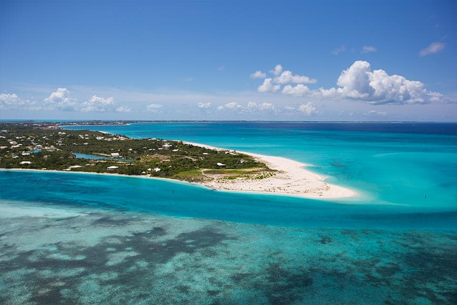 Many US & Canadian Cities to Turks & Caicos Islands on Various Airlines