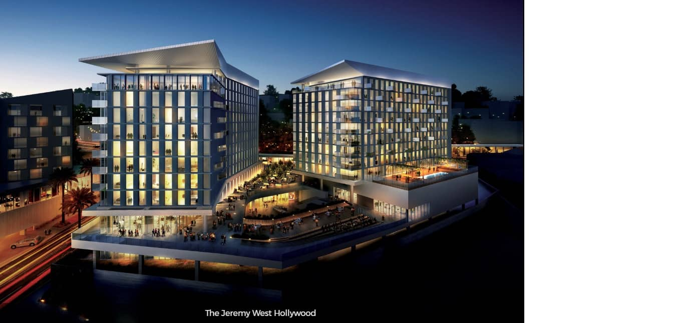 The Jeremy West Hollywood Hotel Grand Opening Intro Rate - 30% Off
