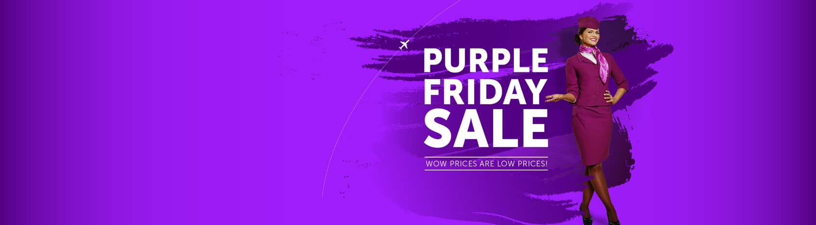 WOW Air Purple Friday $99 OW Airfares To Europe