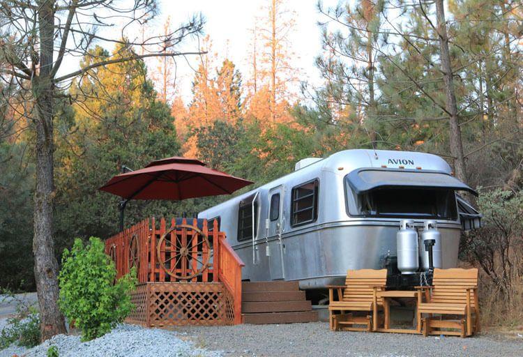 2-Night Trailer, Cabin, or Yurt Stay at Yosemite Pines near Yosemite National Park, CA. $199