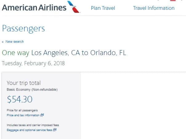 Los Angeles to Orlando or Vice Versa $55 OW or $111 RT Nonstop (Limited Upcoming Jan-March Dates)