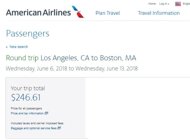 Boston to Los Angeles or Vice Versa $247 RT Nonstop (SUMMER Dates June July Aug)
