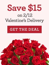 $15 Off $15 or more at 1800Flowers with PayPal -YMMV Email Invite - Expires 3/31/18