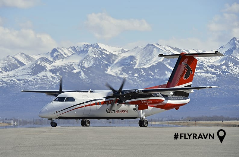 Intro Fares!  Anchorage Alaska to King Salmon or Dillingham AK $198 RT Nonstop on Ravn Alaska (travel March-April)